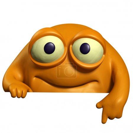 orange cute beast