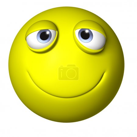 smiley ball