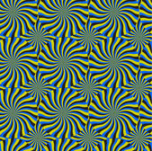 Optical Illusion Spin Cycle Vector Pattern Abstract Background