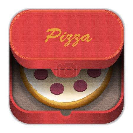 icon pizza