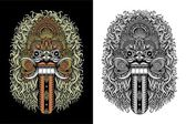 Balinese Demon Mask