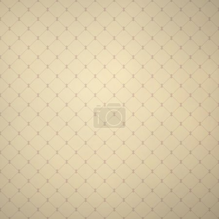 Illustration for Light beige pattern. Vector seamless background. - Royalty Free Image