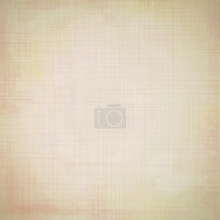 Illustration for Eps 10 vector grungy beige background with colored spots. - Royalty Free Image