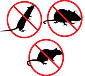 No rats. forbidden sign