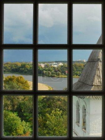 The view from the belfry windows in Yaroslavl