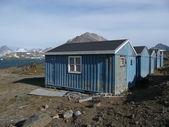 Domy Grónska modré