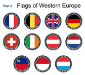 Flags of Western Europe Flags 4