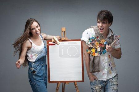 crazy painters