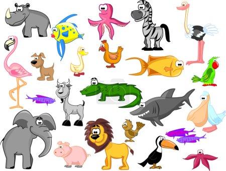 Extra set animals