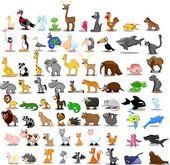"""Постер, картина, фотообои """"Extra large set of animals"""""""