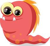 Kreslený roztomilý monstrum