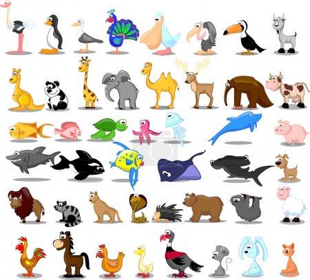 Extra large set of animals