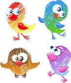 Lovely birds for your design
