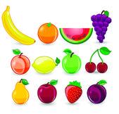 Kreslený ovoce