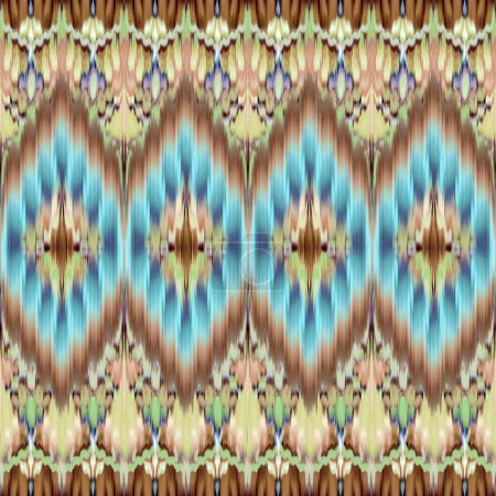 Photo pour Motif de fond coloré géométrique sans couture - image libre de droit