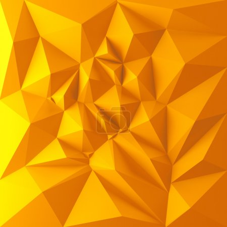 Yellow polygon shapes