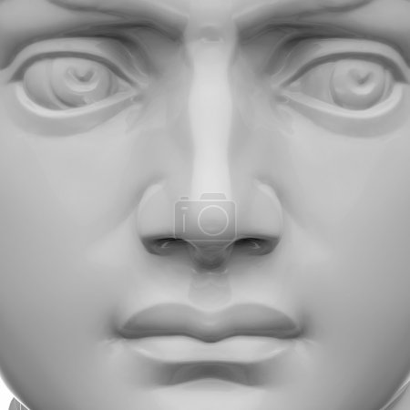 3d sculpture portrait