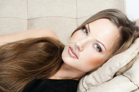 Photo for Woman with Healthy Long Hair - Royalty Free Image