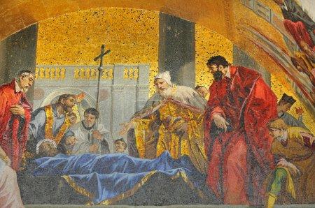 Venerating St Mark
