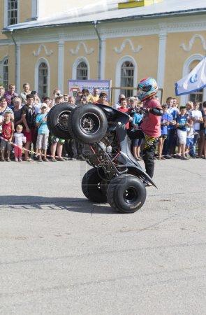 Tricks on an ATV by Thomas Kalinin