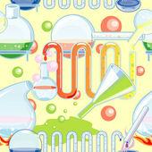 Nahtlose chemischen Glas