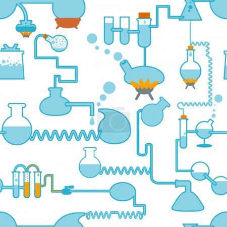 Chemistry symbol seamless