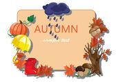 Podzimní pozadí