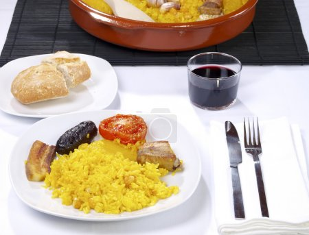 Arroz al Horno – Oven cooked rice