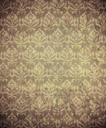Photo pour Damas papier peint (ornement classique ) - image libre de droit