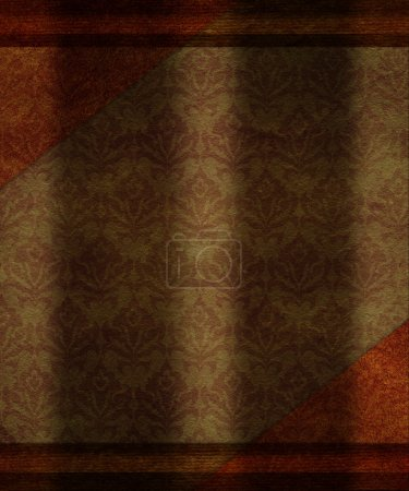Photo for Grunge paper like a vintage gift packing texture - Royalty Free Image