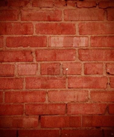 Photo pour Mur de briques de grunge - image libre de droit