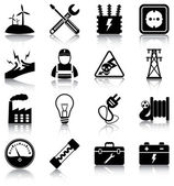 16 electricity related icons