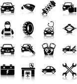 Auto mechanic related icons