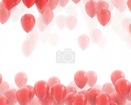 Red balloons backgrounds