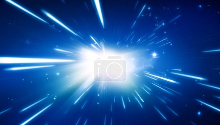 Photo for Big Bang - Universe Background - Royalty Free Image