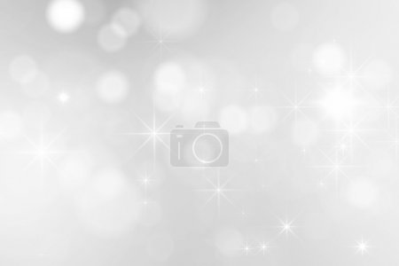 Photo for Bright silver sparkles background - Royalty Free Image