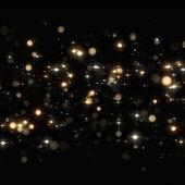 Christmas glitters on black