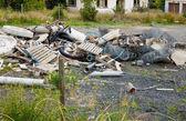 Haldy stavebních odpadů
