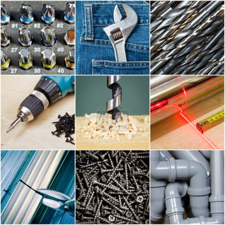 Photo for Construction or repair tools collection - Royalty Free Image