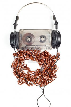 Headphones on Compact Cassette