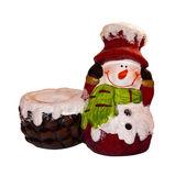 Porcelánové sněhulák, samostatný