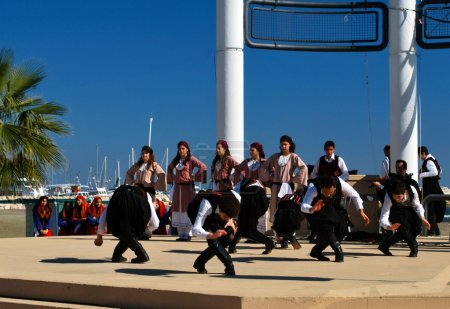 Greek folklore dance