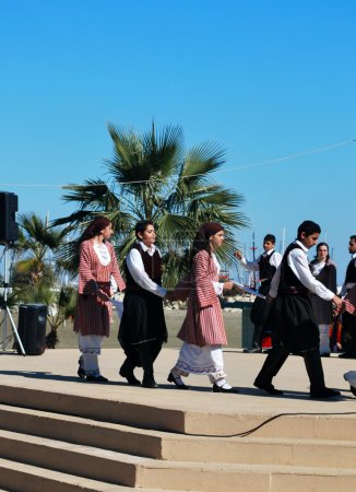 Greek folklore dance