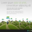 Group of business choosing the right path. Multipl...