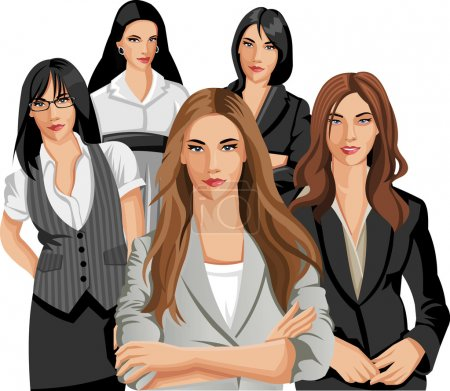 Beautiful Business women...