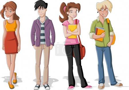 Teenagers.