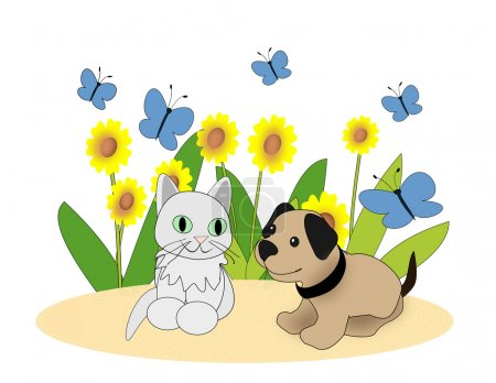 Little Pets in the Garden