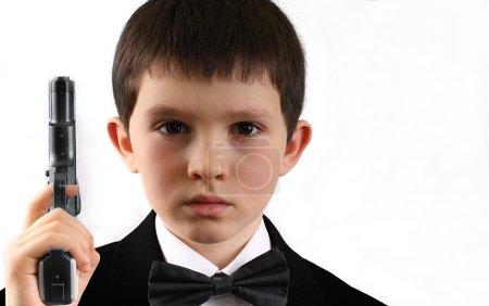 Photo pour Agent de renseignement britannique jeunes. - image libre de droit