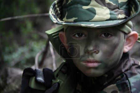 soldat de garçon
