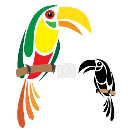 Illustration pour Image vectorielle d'un calmar - image libre de droit